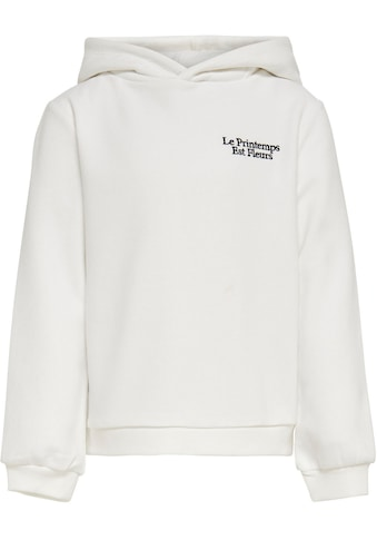 KIDS ONLY Kapuzensweatshirt »KONMELIA«, mit Blumen-Rückendruck kaufen