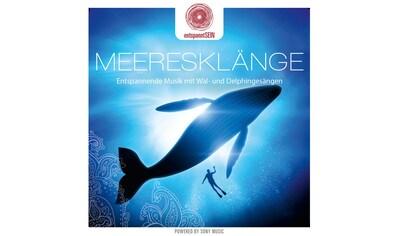 Musik-CD »entspanntSEIN-Meeresklänge (Entspannende Musik m / Davy Jones« kaufen