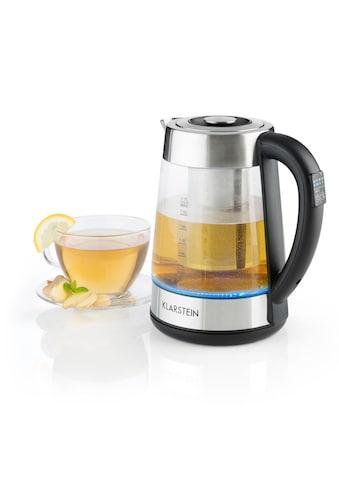 Klarstein Wasserkocher 2-in-1 Teekocher mit Teesieb 1,7L LED-Beleuchtung kaufen