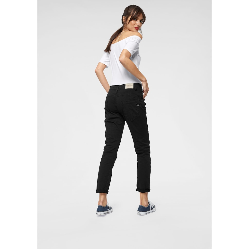 Please Jeans Boyfriend-Jeans »P85A«, lässige Jeans Hose mit Crinkle-Effekt und krempelbarem Bein