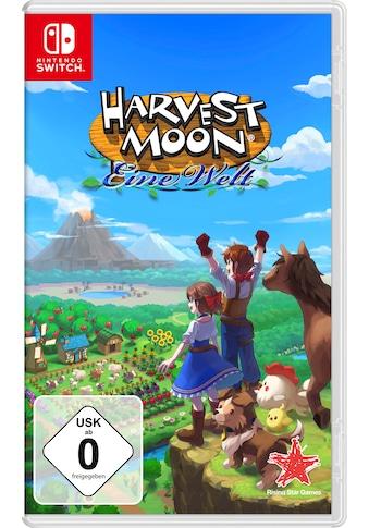 Nintendo Switch Spiel »Harvest Moon: Eine Welt«, Nintendo Switch kaufen