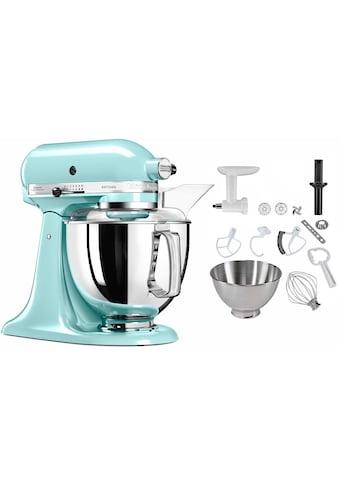 KitchenAid Küchenmaschine 5KSM175SEIC Artisan, 300 Watt, Schüssel 4,8 Liter kaufen