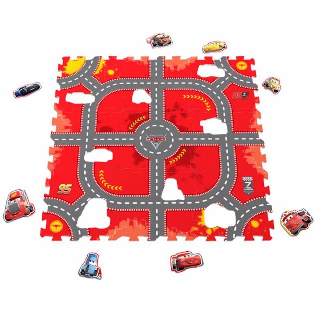 Knorrtoys® Puzzle »Disney/Pixar Cars, Modular Race«, Puzzlematte, Bodenpuzzle