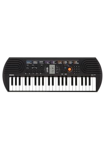 CASIO Keyboard »SA77«, Mini-Keyboard mit praktischem LC-Display kaufen