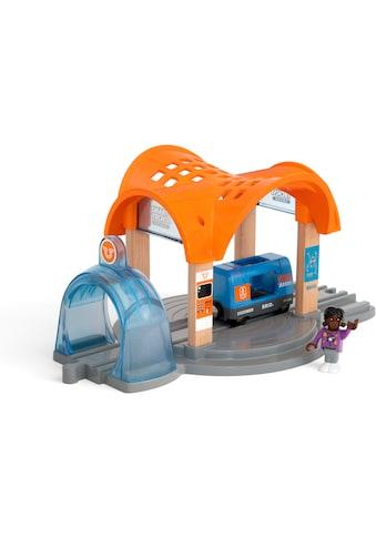 BRIO® Spielzeugeisenbahn-Tunnel »Smart Tech Sound Bahnhof mit Action Tunnel«,... kaufen