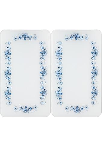 WENKO Herd-Abdeckplatte »Universal Blaue Rankblüten« kaufen