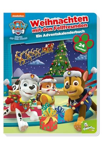 Buch PAW Patrol: Weihnachten mit den Fellfreunden  -  Ein Adventskalenderbuch / Jason Fruchter; Claudia Weber kaufen