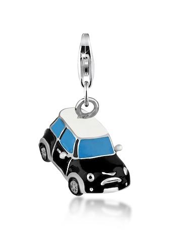 Nenalina Charm - Einhänger »Auto Sportwagen Silber - Anhänger Emaille 925 Silber« kaufen