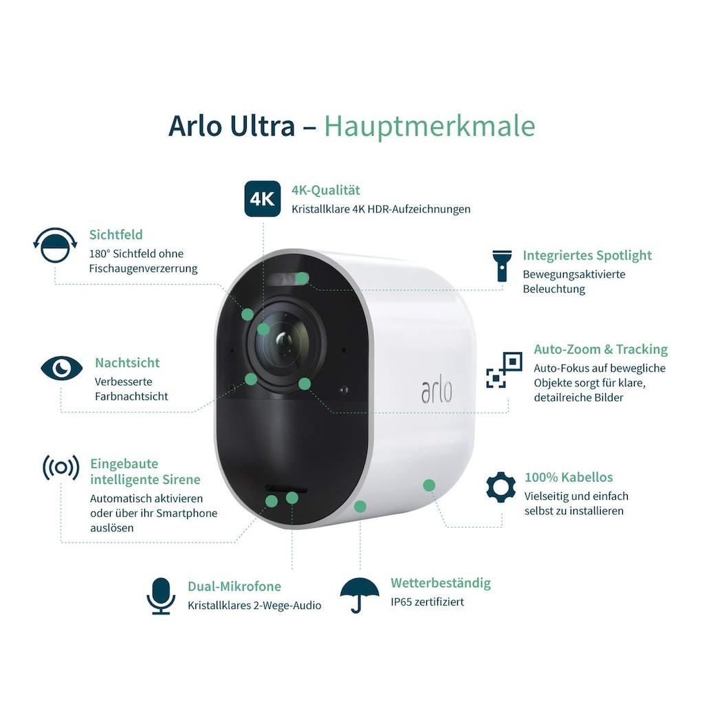 ARLO Ultra 4K UHD Sicherheitssystem