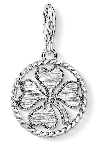 THOMAS SABO Charm - Einhänger »Coin Kleeblatt, 1759 - 637 - 21« kaufen