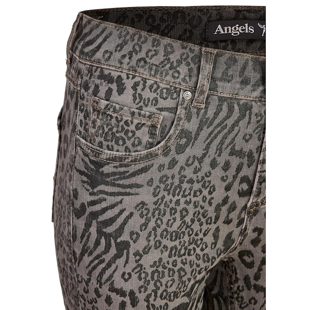 ANGELS Jeans,Skinny' mit Animal-Print
