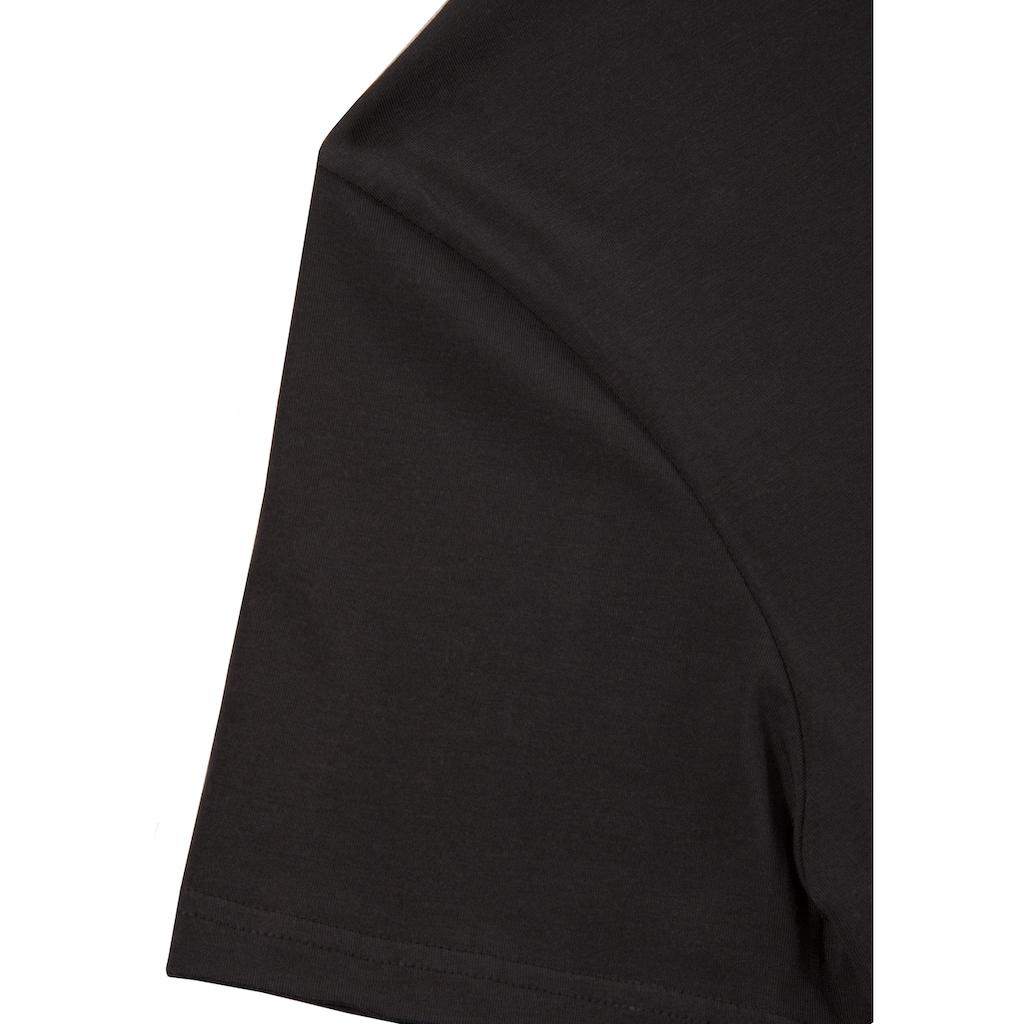 Hangowear Trachtenshirt, mit Printelement