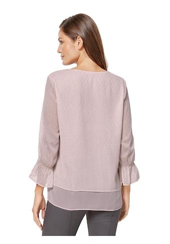Lady Bluse aus leichter Chiffon - Qualitä kaufen