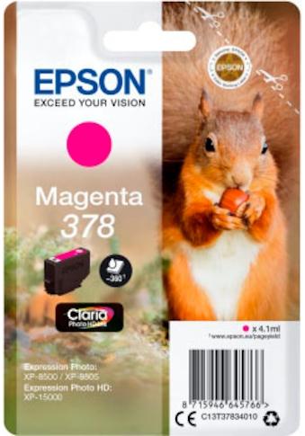 Epson Tintenpatrone »Claria Photo HD Ink 378 Magenta«, (1 St.) kaufen
