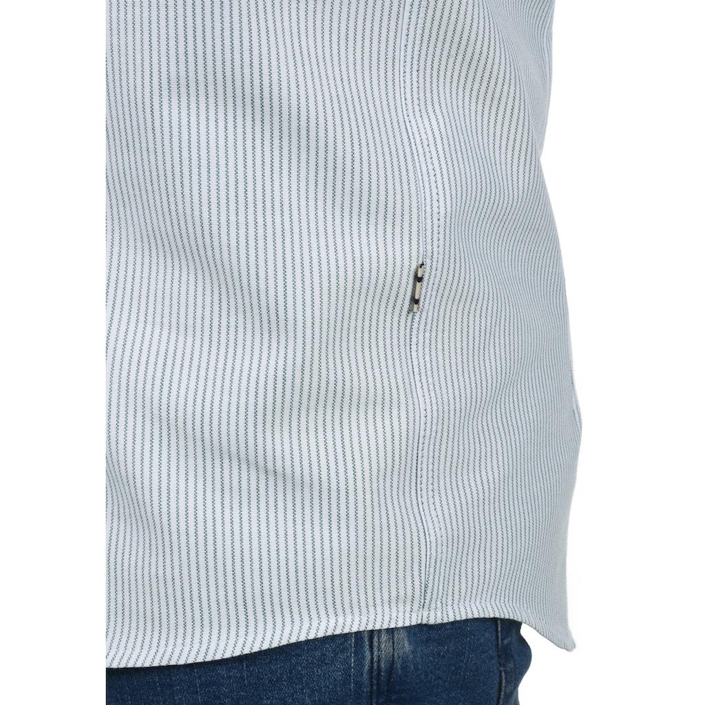 Tailored & Originals Kurzarmhemd »21200342«, Kurzarm-Hemd mit Knopfleiste