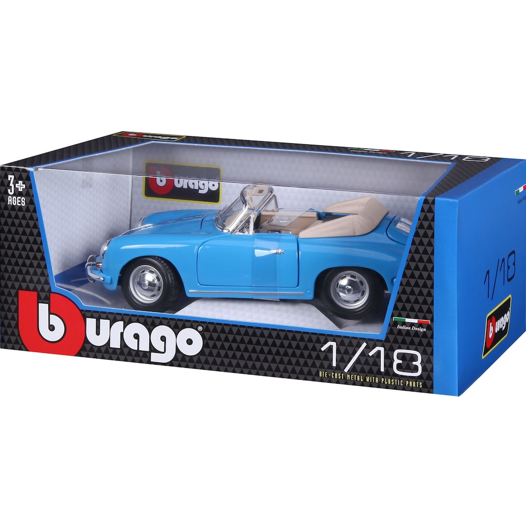 Bburago Sammlerauto »Porsche 356B Cabrio (1961)«, 1:18