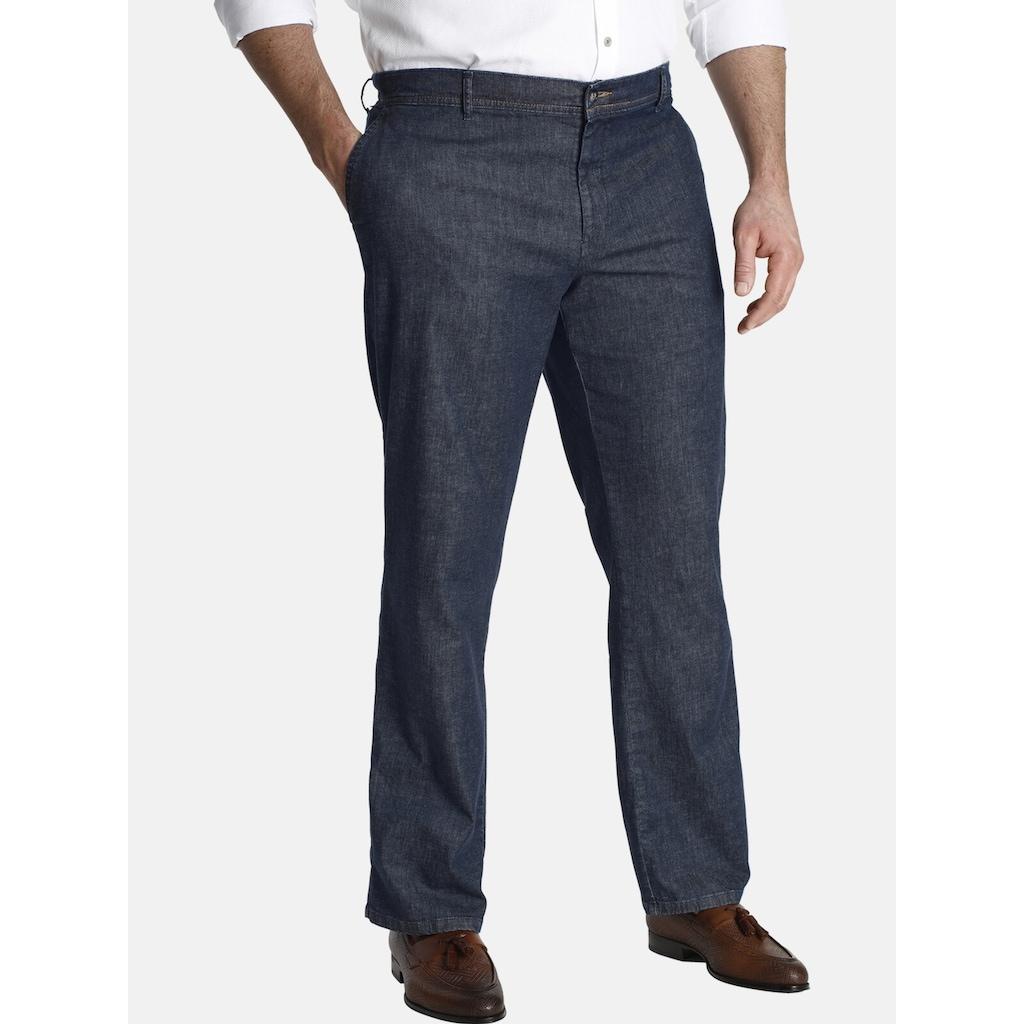 Charles Colby Straight-Jeans »BARON DEEGAN«, mit dezentem Glanz