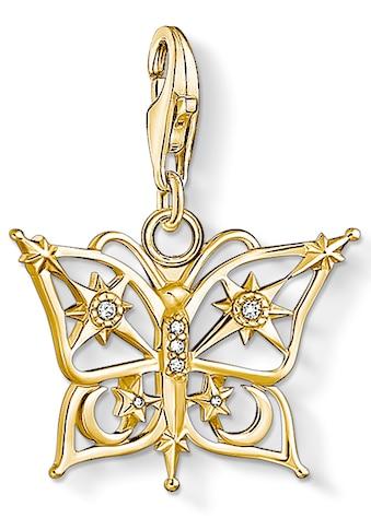THOMAS SABO Charm-Einhänger »Schmetterling, 1853-414-14«, mit Zirkonia kaufen