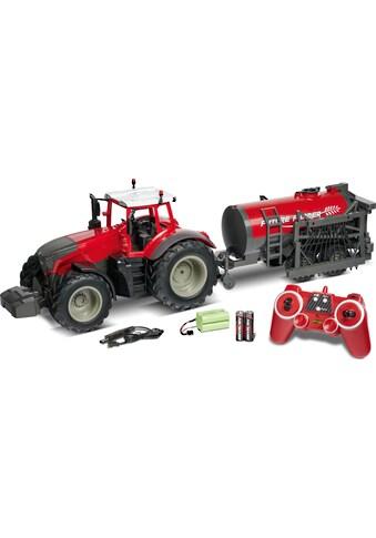 CARSON RC-Traktor »Traktor mit Tankwagen, 1:16« kaufen