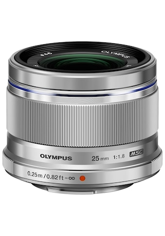 Olympus Festbrennweiteobjektiv »M.ZUIKO DIGITAL 25 mm F1.8« kaufen