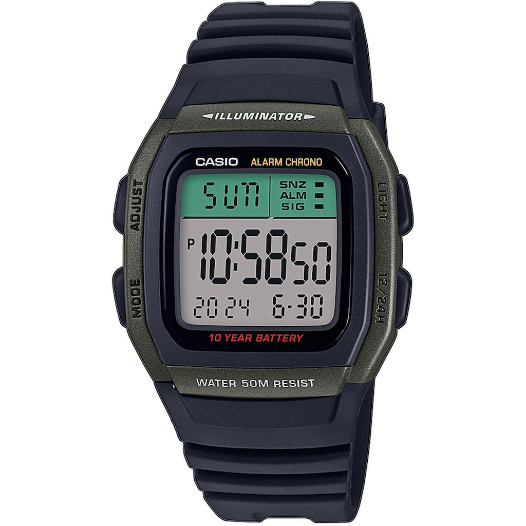 Casio Collection Chronograph »W-96H-3AVEF«