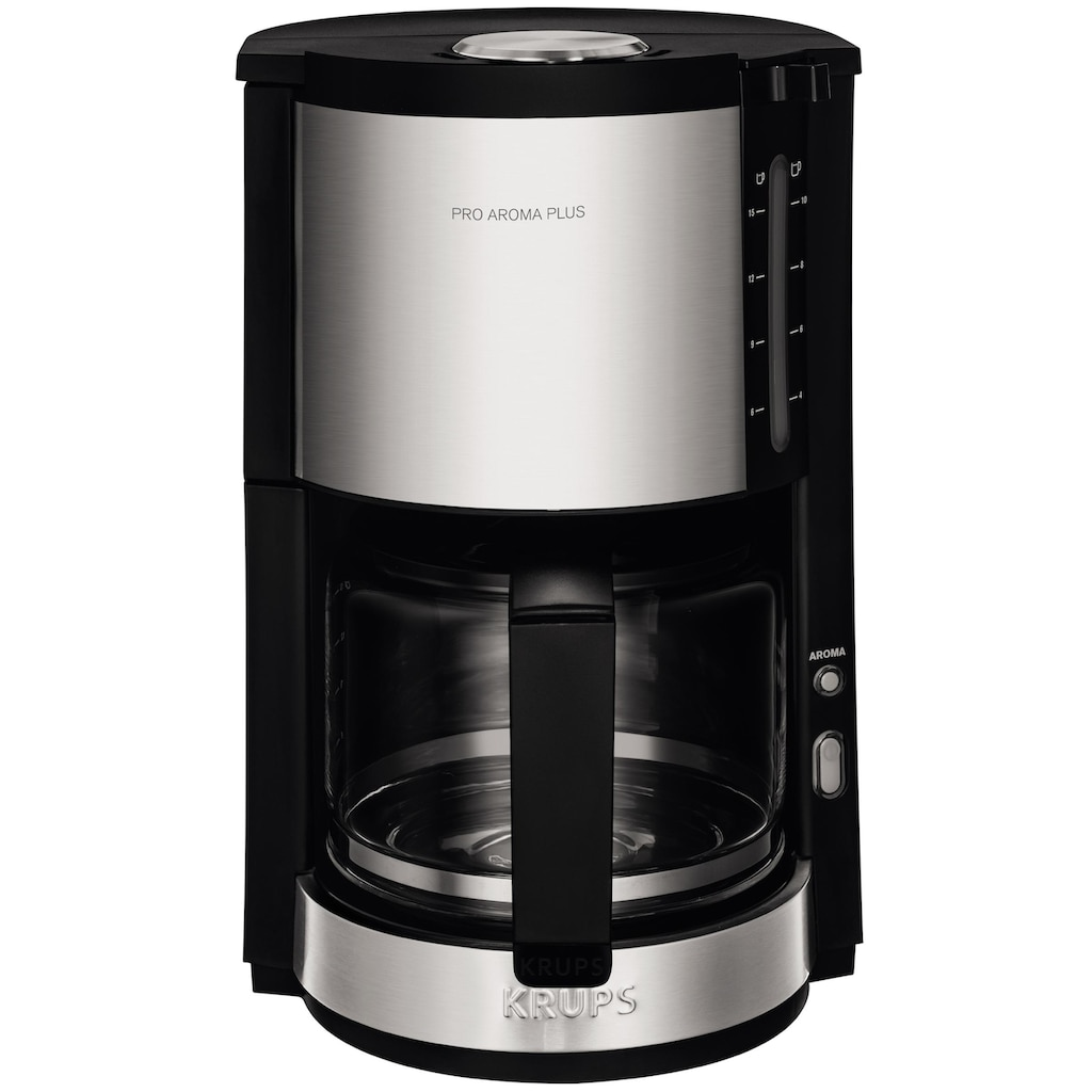 Krups Filterkaffeemaschine »ProAroma Plus KM321«, Papierfilter, 1x4, mit Aromaschalter