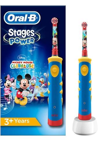 Oral B Elektrische Kinderzahnbürste Stages Power Kids, Aufsteckbürsten: 1 Stk. kaufen