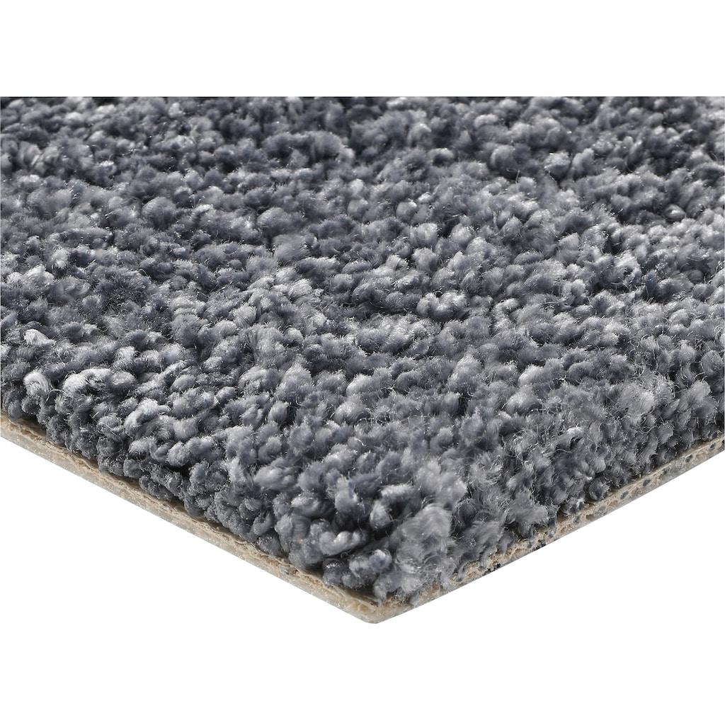 Bodenmeister Teppichboden »Hochflor Velours«, rechteckig, 12 mm Höhe, Meterware, Breite 400 cm, uni, Wunschmaß