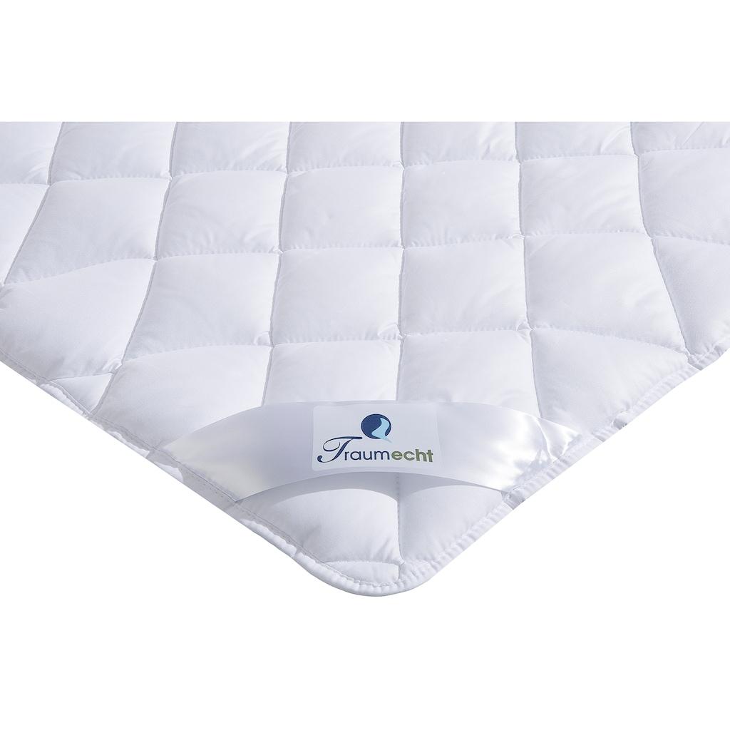 Traumecht Microfaserbettdecke »Saskia«, normal, Füllung Polyesterfaser, Bezug Polyester, (1 St.), mit kühlenden und wärmenden Effekt