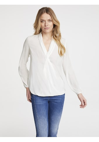 Bluse in Wickeloptik kaufen