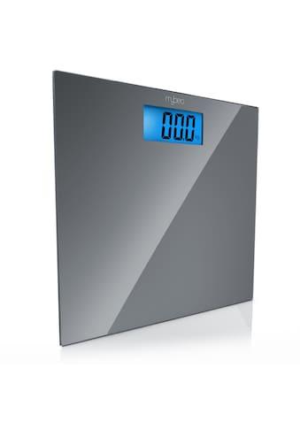 "MyBeo Digitale Körperwaage im Slim Design »3,5"" LCD - Display / DMS Mess - Sensoren / max. 150kg« kaufen"
