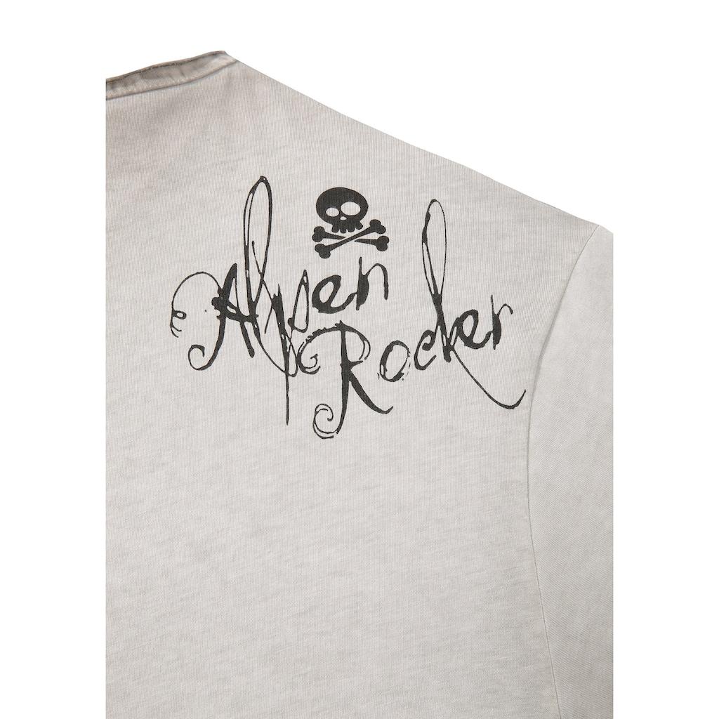 Hangowear Trachtenshirt, mit Print vorne