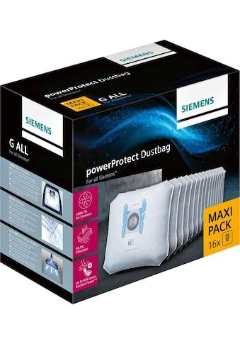SIEMENS Staubsaugerbeutel »16 Stück«, Maxi Pack kaufen