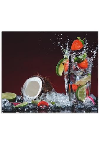 Artland Küchenrückwand »Frischer Fruchtcocktail«, selbstklebend in vielen Größen -... kaufen