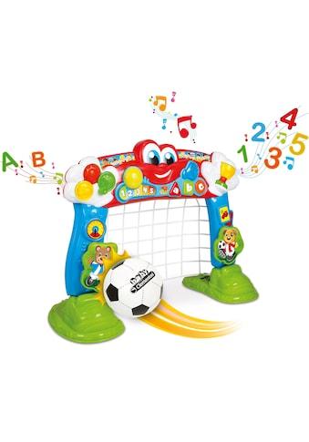 Clementoni® Lernspielzeug, »Baby, Interaktives Fußballtor« kaufen
