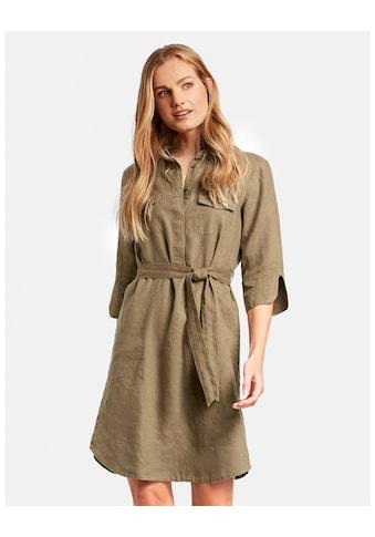 GERRY WEBER Kleid Gewebe »Hemdblusenkleid aus Leinen« kaufen
