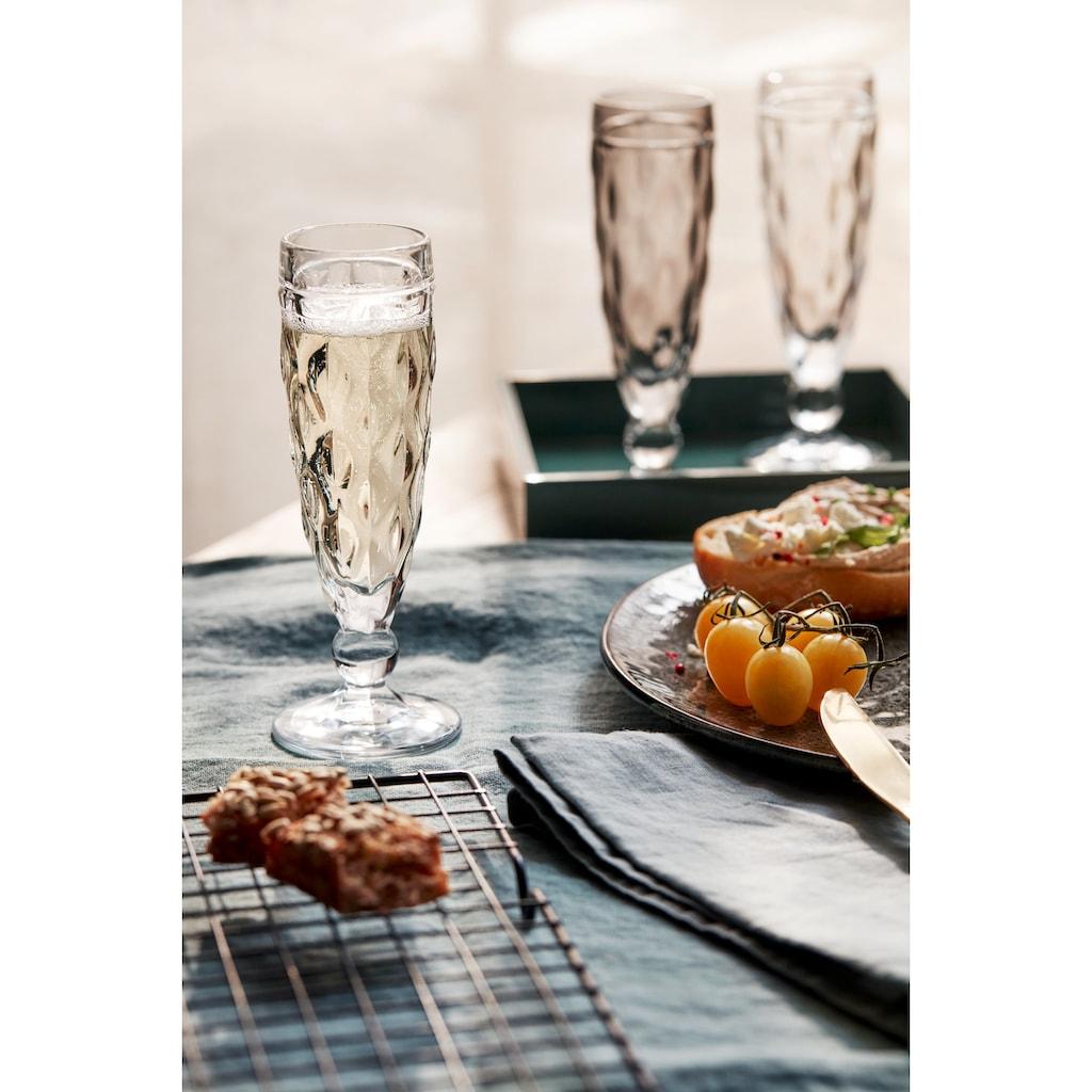 LEONARDO Sektglas »BRINDISI«, (Set, 6 tlg.), 140 ml, 6-teilig
