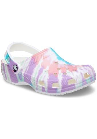 Crocs Clog »Classic Tie Dye Graphic Clog«, mit trendigem Batik-Muster kaufen