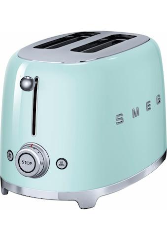 Smeg Toaster »TSF01PGEU«, für 2 Scheiben, 950 Watt kaufen