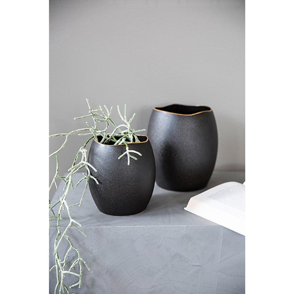 Fink Dekovase »KALEA«, aus Keramik, Übertopf