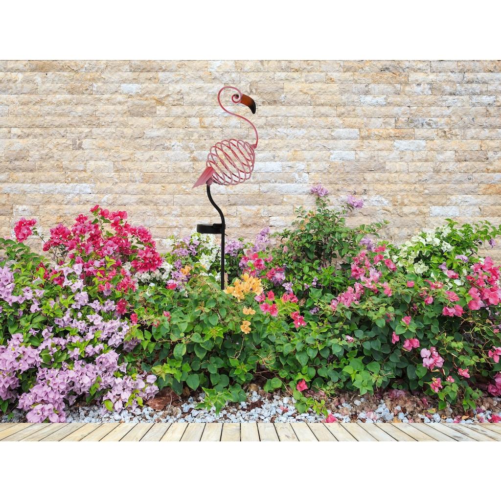 näve LED Gartenleuchte »Flamingo«, 1 St., Warmweiß