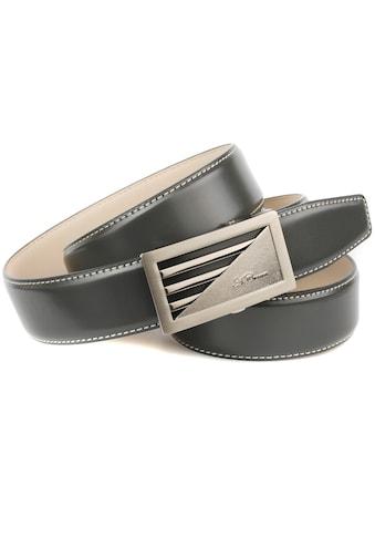 Anthoni Crown Ledergürtel, Automatik Ledergürtel kaufen