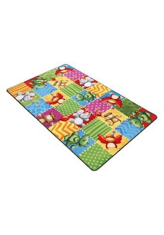 Böing Carpet Fußmatte »Lovely Kids LK-5«, rechteckig, 2 mm Höhe, Fussabstreifer,... kaufen