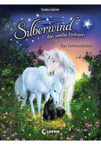 Buch »Silberwind, das weiße Einhorn - Das Einhornfohlen / Sandra Grimm, Carolin Ina... kaufen