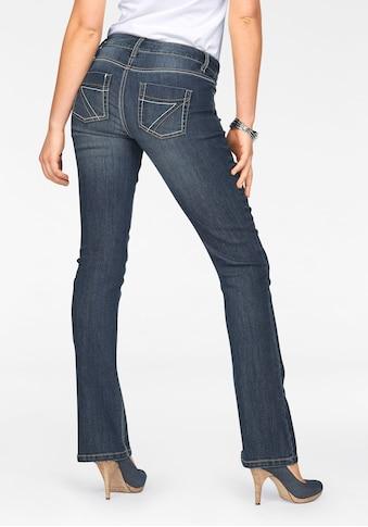 Arizona Bootcut - Jeans »mit Kontrastnähten« kaufen