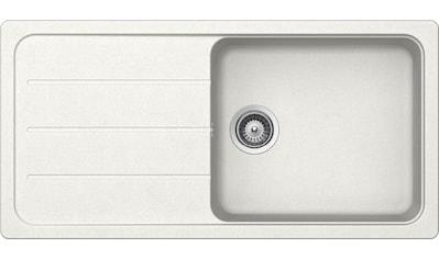 SCHOCK Granitspüle »Formhaus« großes Becken, 100 x 50 cm kaufen