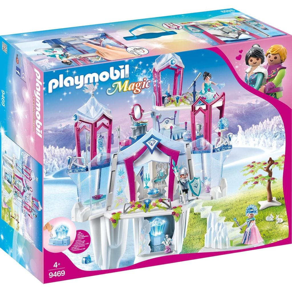 "Playmobil® Konstruktions-Spielset ""Funkelnder Kristallpalast (9469), Magic"", Kunststoff"