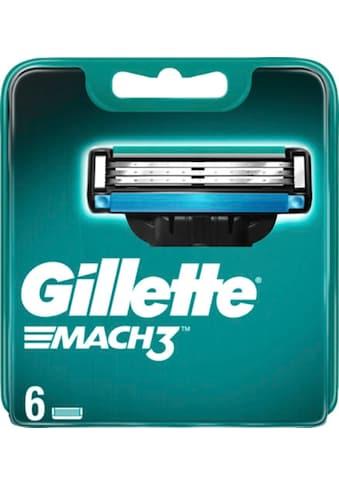 """Gillette Rasierklingen """"Mach 3"""", 6 - tlg. kaufen"""