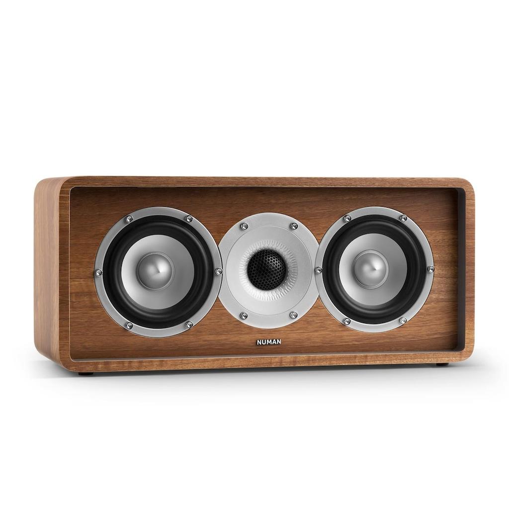 NUMAN Zwei-Wege-Center-Lautsprecher walnuss