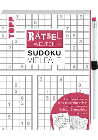 Buch »Rätselwelten - Sudoku Vielfalt | Der Rätselklassiker in vielen wunderschönen... kaufen